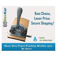 Heavy Duty Paper Punching Machine upto 50 Sheets