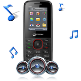 micromax x085 black red mobile