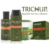 Trichup Hair Fall Control Kit - Hair Fall Control Oil, Shampoo, Powder & Hair Fall Control Cream