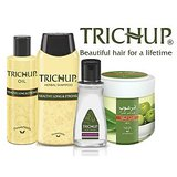 Trichup Healthy Hair Care Kit Trichup - Hair Oil, Shampoo, Silky Potion, Hair Fall Control Cream