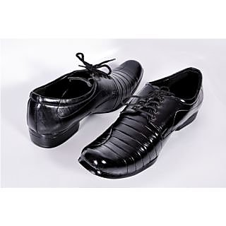 Menzoni Men's Black Formal Shoes