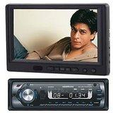 Car Lcd Screen + Car DVD +usb +FM + FREE DVD Holder + Waranty