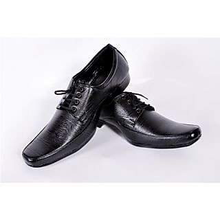 Menzoni Men's Stylish Black Formal Shoes