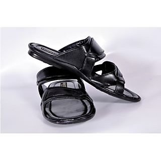 Monitor Men's Black Open Sandals