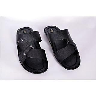 Monitor Men's Black Sandal