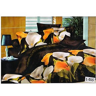 Valtellina polycotton double bedsheet with two pillow cover (LKY-003)