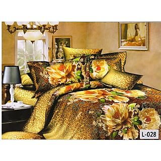 valtellina desinger polycotton double bedsheet with two pillow cover (LKY-007)