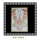 Marble Tile With Hand Painted Design Art Work