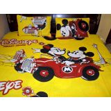 Housee Divine Kids Bed Sheet Pure Cotton Bed Sheet2 Pillow Cover Cartoon Print En