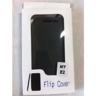 Motorola Moto E2 E-2 XT1505 Leather Folio Flip Flap Cover Battery Back Cover Cas