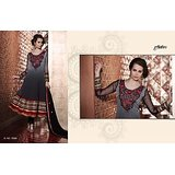 Aarya Black Faux Georgette   Anarkali Suit