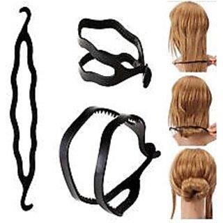 Twist Holder Clip Magic Roll Bun Hair Twist bun Women Hair Accessories clip pin