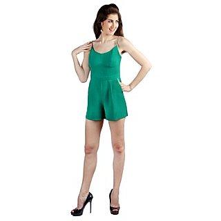 Vinegar Solid Casual Jump Suit for Women_C0350