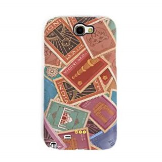 Stamp Samsung Galaxy Note 2 Cover available at ShopClues for Rs.900