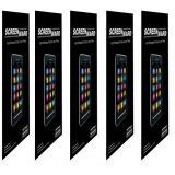 (pack Of 5) Screen Protector Scratch Guard For Motorola Fire Xt530