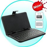 Leather Keyboard Case For 7 Inch Android Tablet Pc , (usb Port)