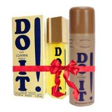 Combo Pack of Lomani Do It Perfume And Deo