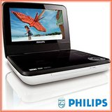 "Philips PD7030 7"" Portable DVD Player"
