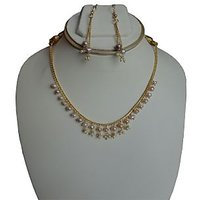 pink loser pearls set