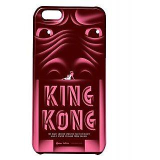 Pickpattern Back Cover For Apple Iphone 5C HELLOKINGKONGI5C-1917