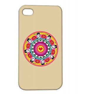 Pickpattern Back Cover For Apple Iphone 4/4S AUDREYPOPARTI4-925