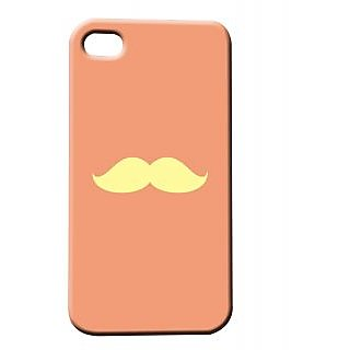Pickpattern Back Cover For Apple Iphone 4/4S MUCCHIPINKI4-477