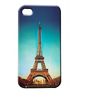 Pickpattern Back Cover For Apple Iphone 4/4S PARISLOVEI4-554