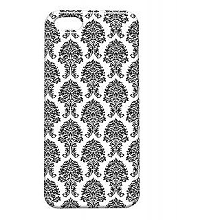 Pickpattern Back Cover For Apple Iphone 5/5S SIMPLEBLACKI5-1373