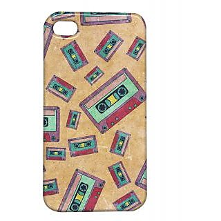 Pickpattern Back Cover For Apple Iphone 4/4S CASSATTEI4-138
