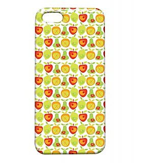 Pickpattern Back Cover For Apple Iphone 5/5S HEALTHYFRUITSI5-1335