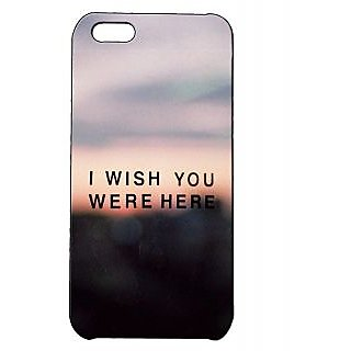 Pickpattern Back Cover For Apple Iphone 5C IWISHI5C-1943