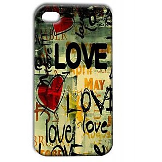 Pickpattern Back Cover For Apple Iphone 4/4S LOVEI4-439