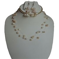 Fish wire pearls set