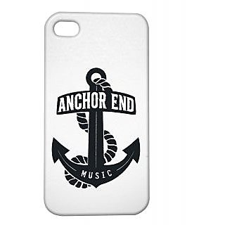Pickpattern Back Cover For Apple Iphone 4/4S ANCHORI4-8