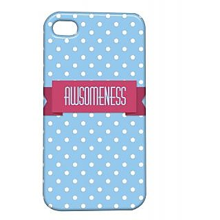 Pickpattern Back Cover For Apple Iphone 4/4S AWESOMENESSI4-900