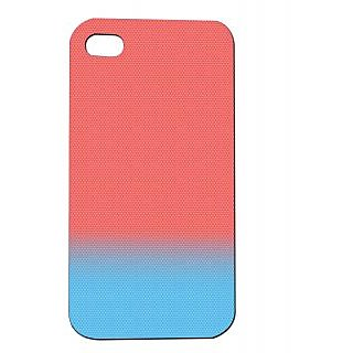 Pickpattern Back Cover For Apple Iphone 4/4S BLUESHADESI4-96