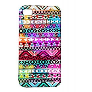 Pickpattern Back Cover For Apple Iphone 4/4S HOLICOLORI4-356