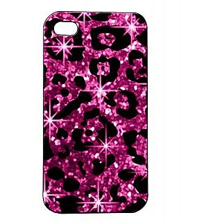 Pickpattern Back Cover For Apple Iphone 4/4S SHIMMERCHEETAHI4-676