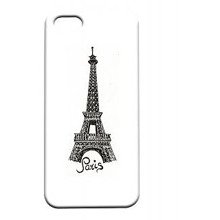 Pickpattern Back Cover For Apple Iphone 5/5S CARBONPARISI5-1412
