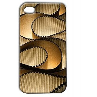 Pickpattern Back Cover For Apple Iphone 4/4S CURVESDESIGNI4-187
