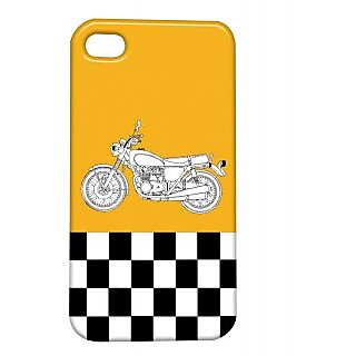Pickpattern Back Cover For Apple Iphone 4/4S ENFIELDI4-882