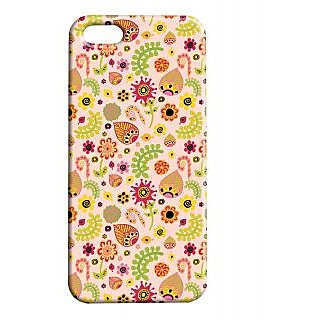 Pickpattern Back Cover For Apple Iphone 5/5S LEAFYETHNICI5-1468