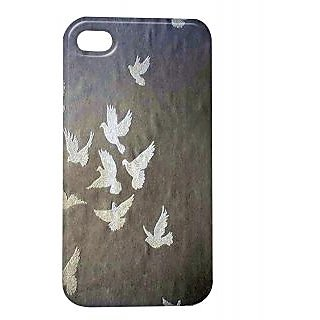 Pickpattern Back Cover For Apple Iphone 4/4S PEACEMAKERSI4-561