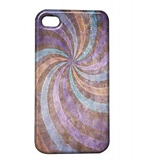 Pickpattern Back Cover For Apple Iphone 4/4S WINDMILLBLUEI4-817