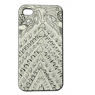 Pickpattern Back Cover For Apple Iphone 4/4S ARTAESTHETICSI4-17