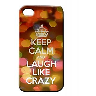 Pickpattern Back Cover For Apple Iphone 4/4S CRAZYI4-182