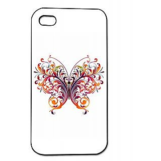 Pickpattern Back Cover For Apple Iphone 4/4S BUTTERFLYSPAMI4-129