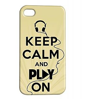Pickpattern Back Cover For Apple Iphone 4/4S PLAYONI4-610