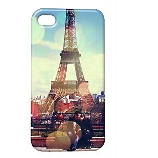 Pickpattern Back Cover For Apple Iphone 4/4S ANEVENINGINPARISI4-11
