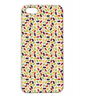 Pickpattern Back Cover For Apple Iphone 5/5S COLOURFULKAJUI5-1429